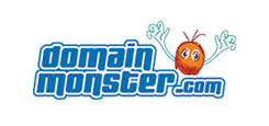 Domain Monster Logo